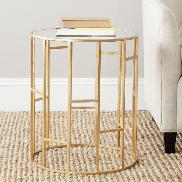Kávový stolek Doreen Golden