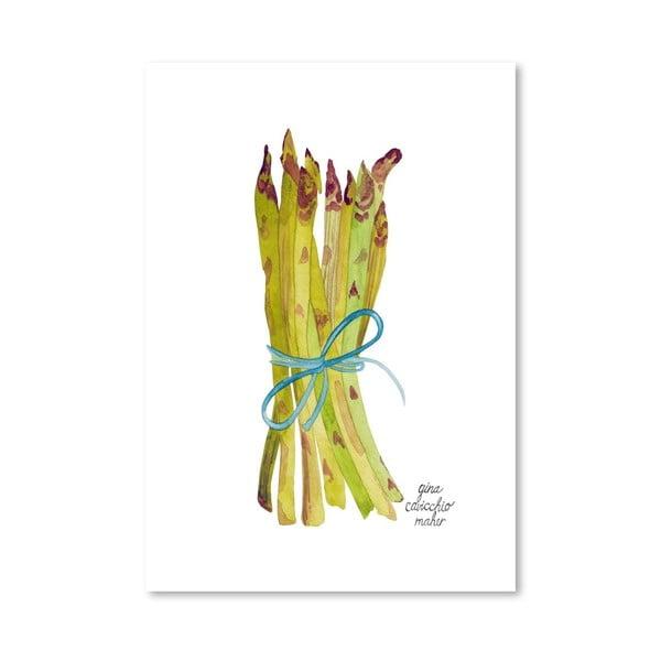 Autorský plakát Asparagus, 30x42 cm