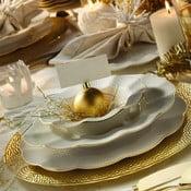 24dílná sada talířů z porcelánu Kutahya Waves