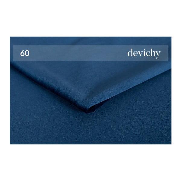 Canapea extensibilă cu șezlong pe partea stângă Tous, albastru închis