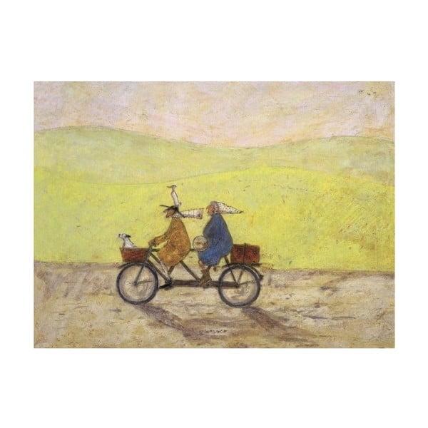 Obraz na plátně Výletní od Sam Toft, 80x60 cm