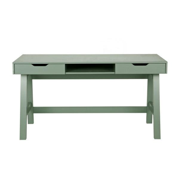 Zelený psací stůl Nikki WOOOD