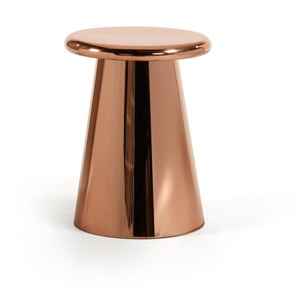 Příruční stolek v měděné barvě La Forma Phil