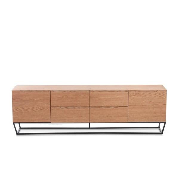 TV stolek ze dřeva a kovu Ángel Cerdá Notio