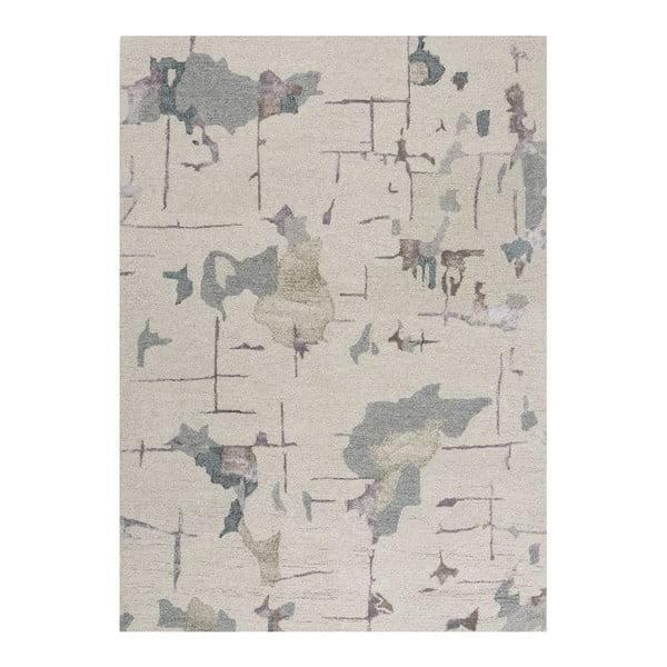 Vlněný koberec Bita Blue, 170x240 cm
