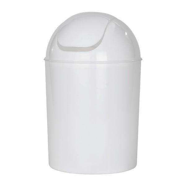 Biały kosz na śmieci Wenko Swing