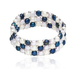Perlový náramek Nova Pearls Copenhagen Félicité, délka 19 cm