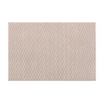 Suport pentru farfurie Tiseco Home Studio Chevron, 45 x 30 cm, maro gri
