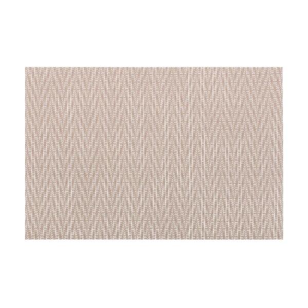 Hnědošedé prostírání Tiseco Home Studio Chevron, 45 x 30 cm