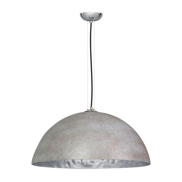 Lustră ETH Mezzo Tondo, ⌀ 70 cm, gri/argintiu
