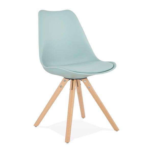 Světle modrá jídelní židle Kokoon Tolik