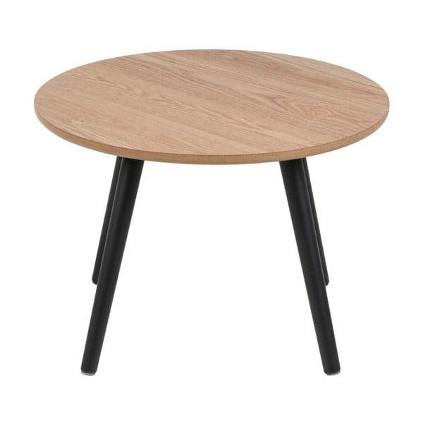 Odkládací stolek s dýhou z jasanu Actona Stafford, ⌀50cm