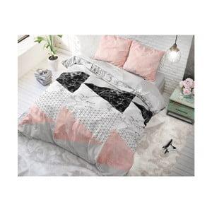 Bavlněné povlečení na jednolůžko Sleeptime Artistic, 140 x 220 cm
