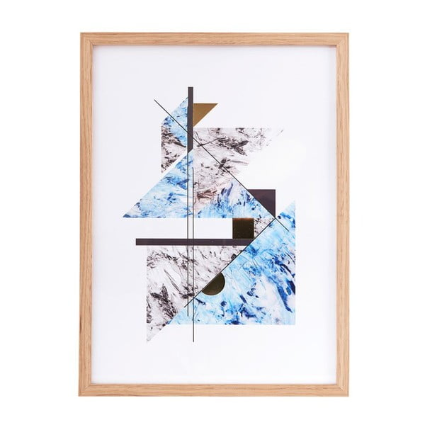 Ilustrace v rámu Abstract Marble no. 2