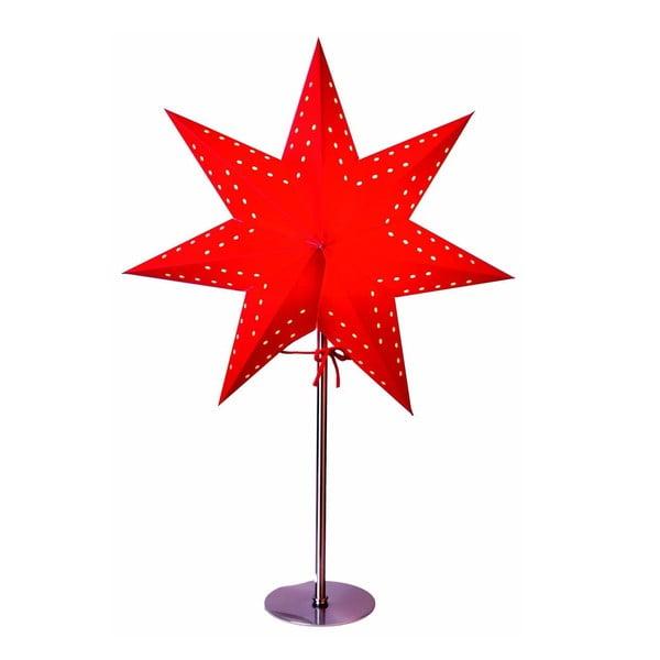 Červená svítící hvězda Best Season Bobo Red, 50 cm