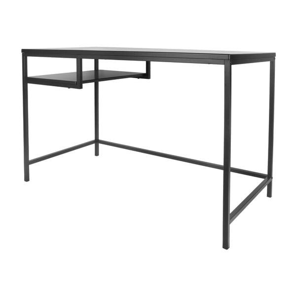 Černý pracovní stůl Karlsson Fushion