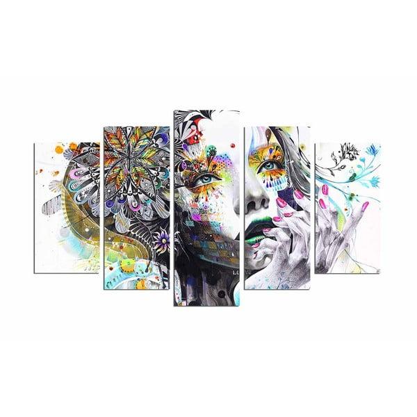 Tablou decorativ din 5 piese Dream