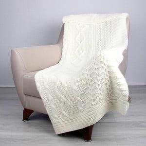 Světle béžová deka Totu,170x130cm