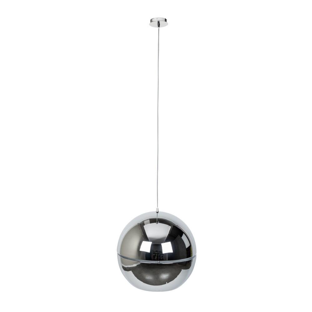 Stropní svítidlo ve stříbrné barvě Zuiver Retro, Ø 50 cm