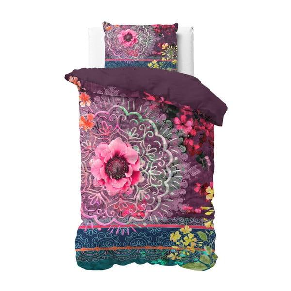 Lenjerie din bumbac, pat de o persoană Sleeptime Marjo, 140 x 220 cm