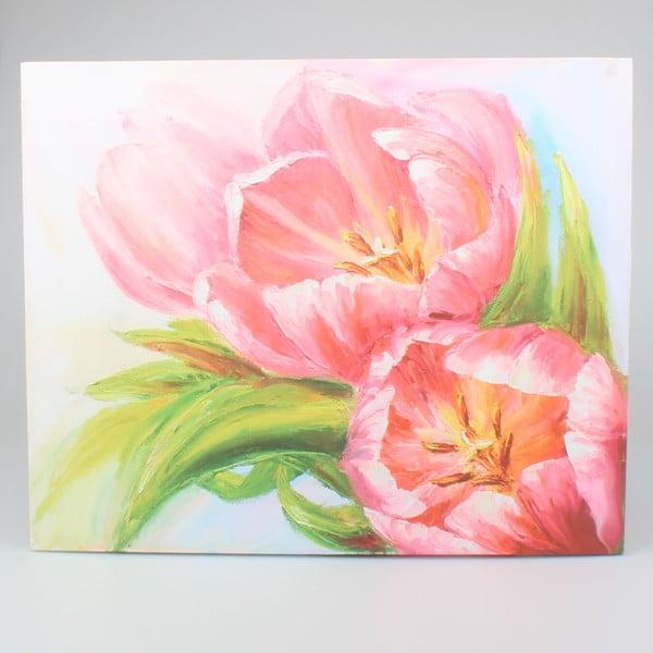 Tablou pe pânză pentru perete Dakls Flower, 56x46cm