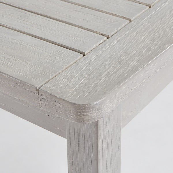 Světle šedý stůl La Forma Berkeley,150x90cm