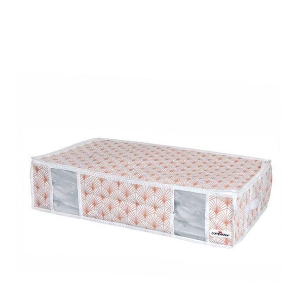 Ružový vakuový úložný box na oblečenie pod posteľ Compactor Signature Blush 3D Vacuum Bag, 145 l