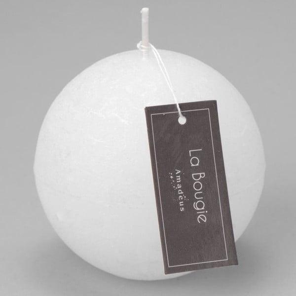 Svíčka Big Sphere White