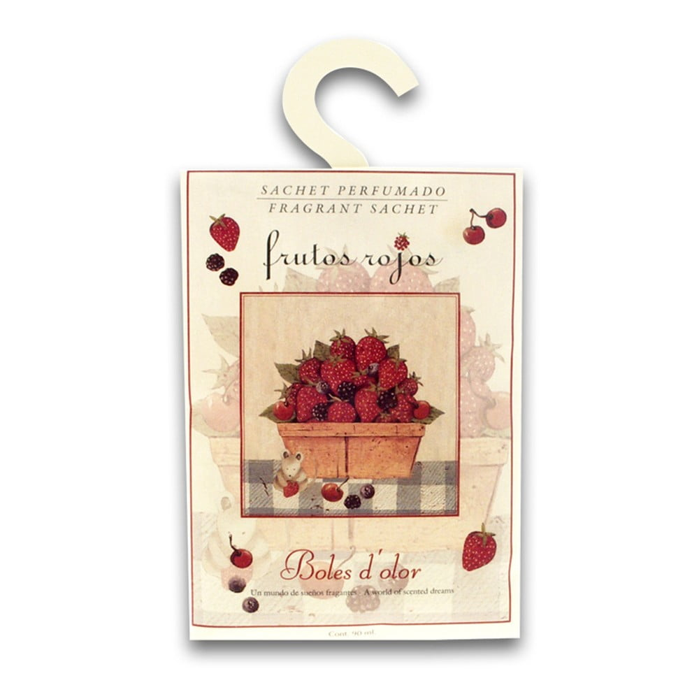 Vonný sáček s vůní červeného ovoce Boles d'olor