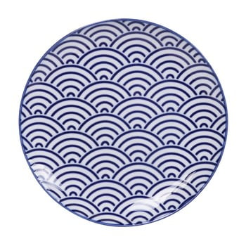 Farfurie din porțelan Tokyo Design Studio Wave, ø 16 cm de la Tokyo Design Studio