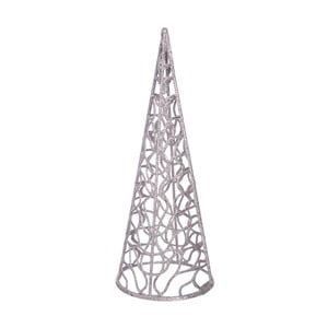 Decorațiune de Crăciun Ixia Conic, argintiu