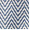 Vlněný koberec Zig Zag Light Blue, 240x155 cm