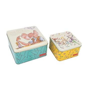 Set 2 cutii metalice Roald Dahl by Portico Designs de la Portico Designs
