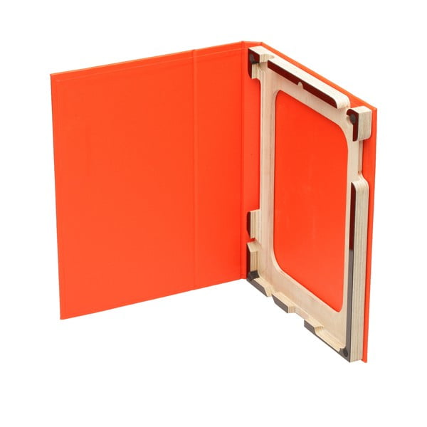 Obal na iPad 2/3/4, oranžový/černý