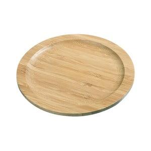 Bambusové servírovací prkénko Abrahamo, průměr20cm