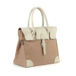 Bavlněná kabelka Garbo, béžová