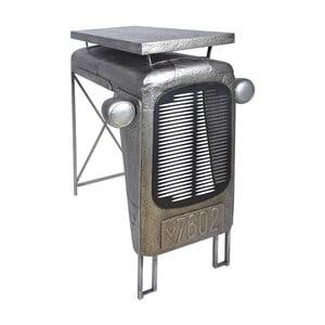 Šedý barový stolek Esschert Design Traktor