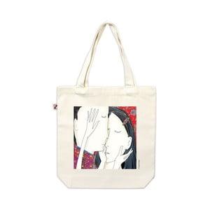 Plátěná taška Barevný polibek