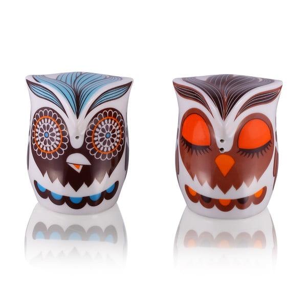 Slánka a pepřenka Owl Hippie