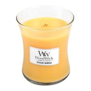 Lumânare parfumată WoodWick, aromă de citrice și șampanie, 60 ore