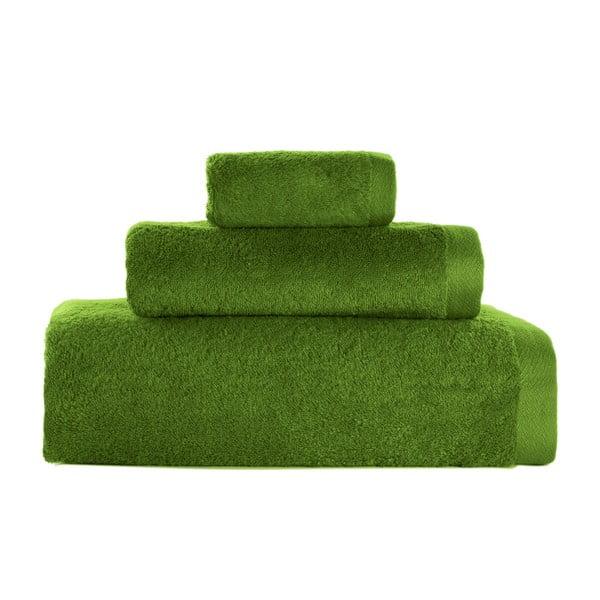 Set 3 prosoape Artex Alfa, verde măsliniu