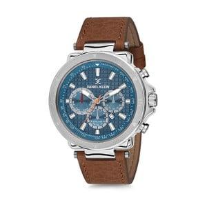 Pánské hodinky s hnědým koženým řemínkem Daniel Klein Elysium