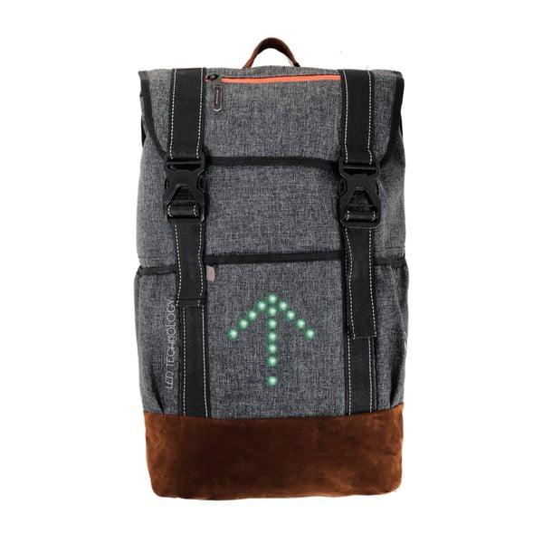 Cyklistický batoh se signálovým LED značením MoonRide  63e9d08776