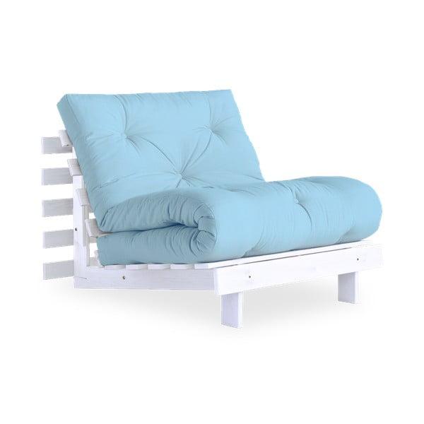 Roots White/Light Blue variálható fotel - Karup Design