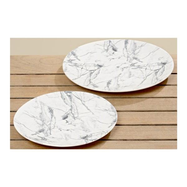 Sada 2 talířů Marble Plate