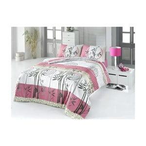 Lenjerie de pat cu cearșaf Bambu, 200 x 220 cm
