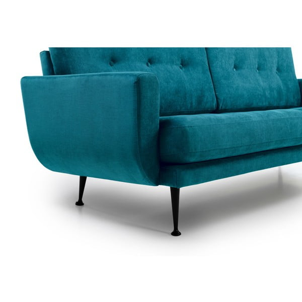 Canapea cu 2 locuri Softnord Fly, verde petrol