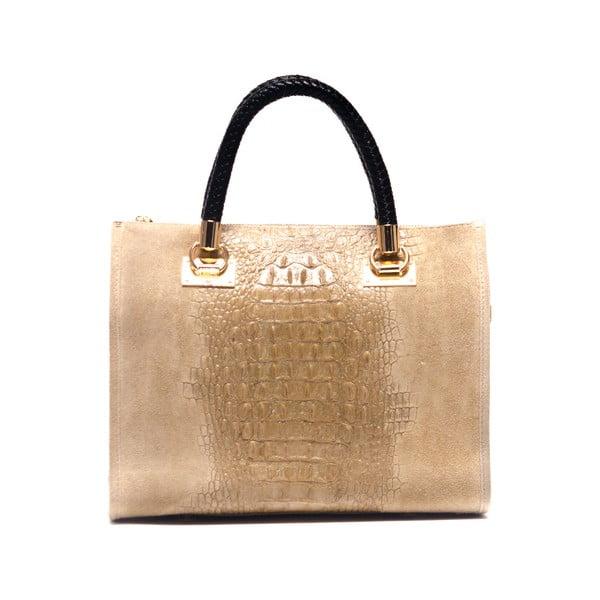 Kožená kabelka Isabella Rhea 822 Fango