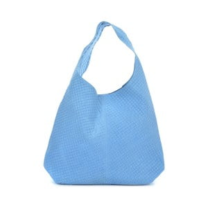 Modrá kožená kabelka Mangotti Bags Abelie