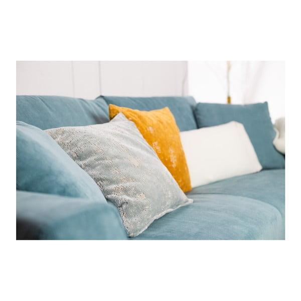 Pernă Zuiver Sarona Vintage, 45 x 45 cm, albastru